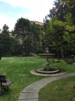 Palazzo Bocconi - giardino