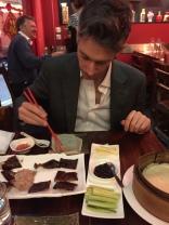 Fede mangia la Peking Duck