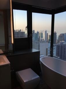 bagno panoramico!