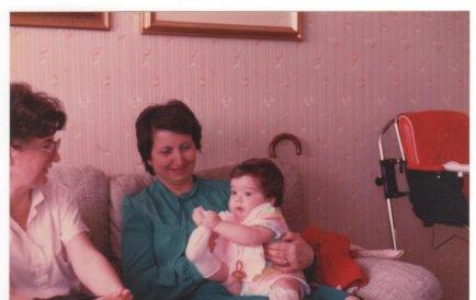 Ale & nonna 1983 Milano